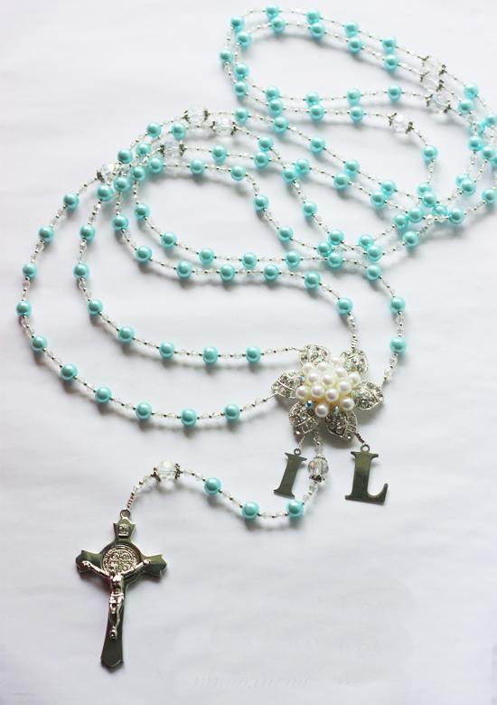 Customized Wedding Cord Coated Pearls